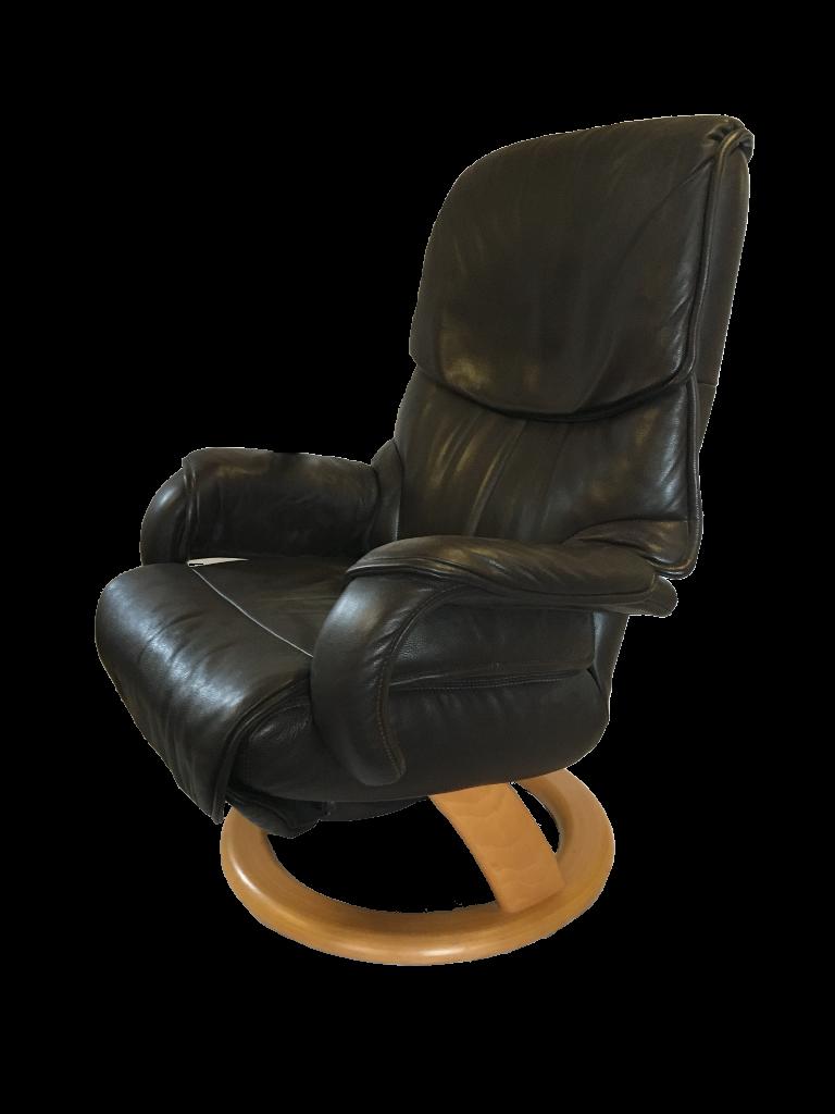 relaxsessel cosyform in braunem leder mit 3 motoren polster hus hiltrup. Black Bedroom Furniture Sets. Home Design Ideas